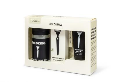 Verzendverpakking cosmetica met venster en autolock van vouwkarton