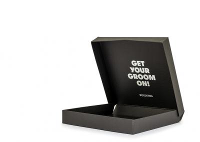 Verzenddoos van omplakte kartonnage scharnierbox voor Boldking